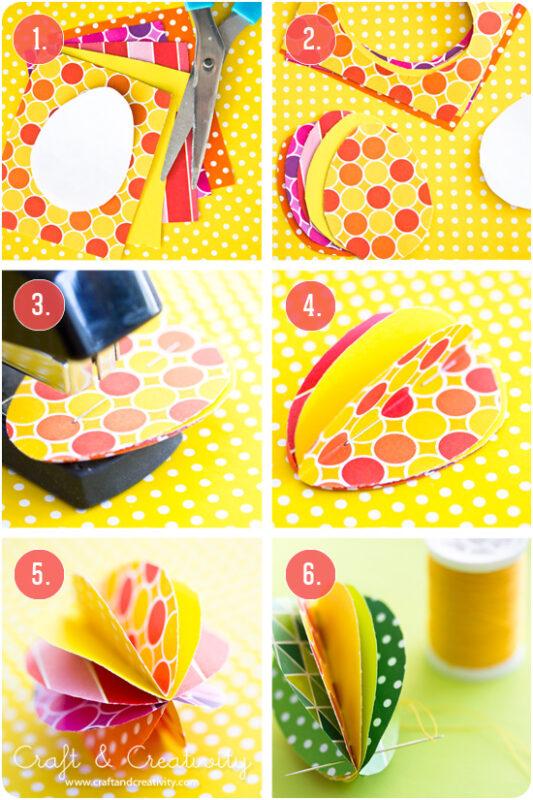 lavoretti di pasqua uova colorate