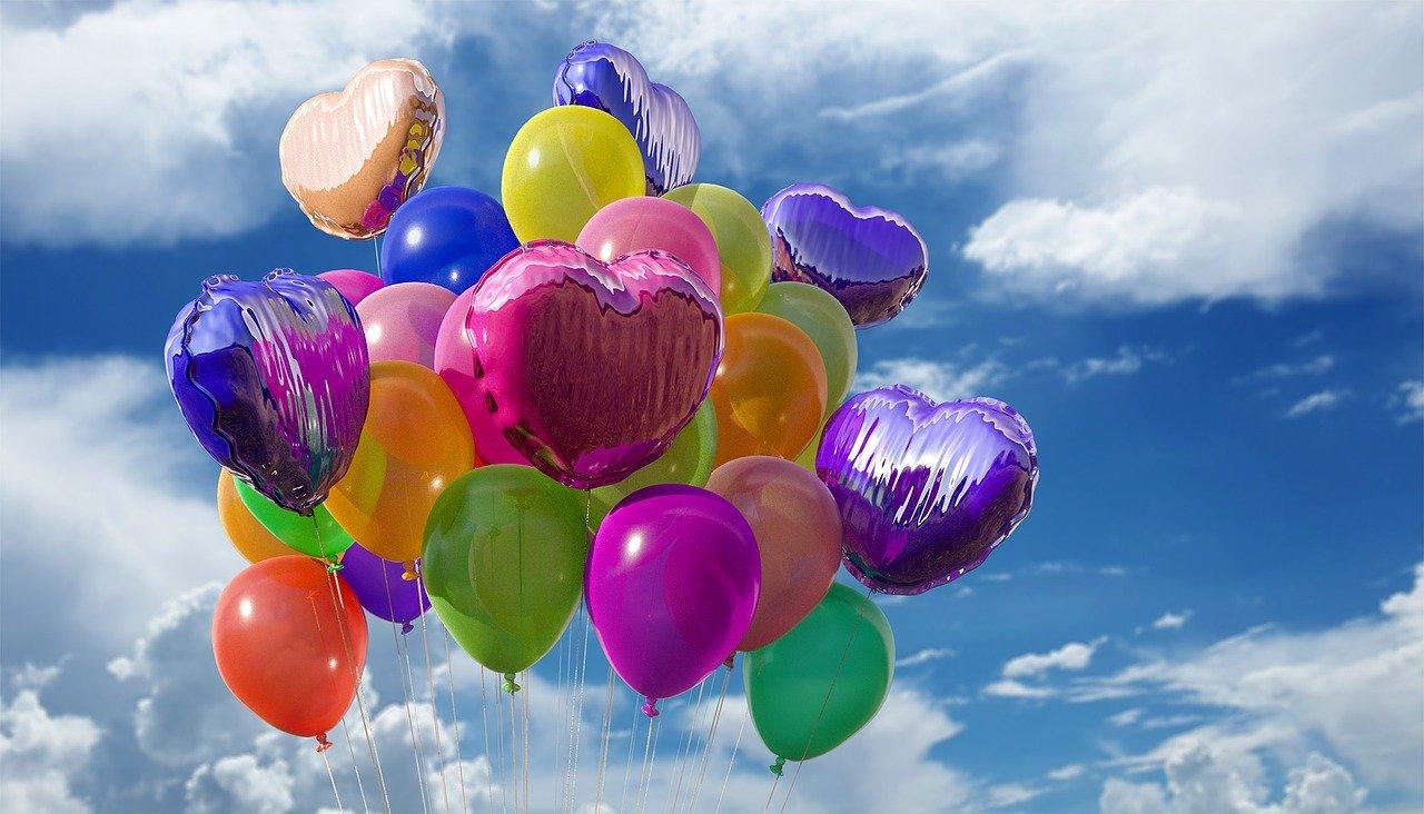 palloncini colori delle feste
